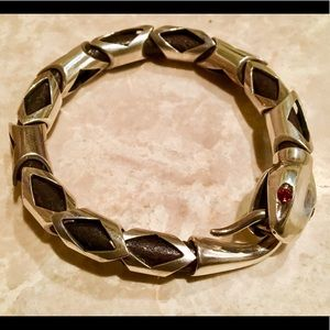 Jewelry - Authentic famous designer sterling silver bracelet